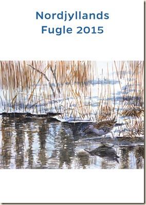 Nordjyllands Fugle 2015_forside